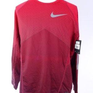 Nike Pro Hyperwarm Men's Long Sleeve Red Size XXL